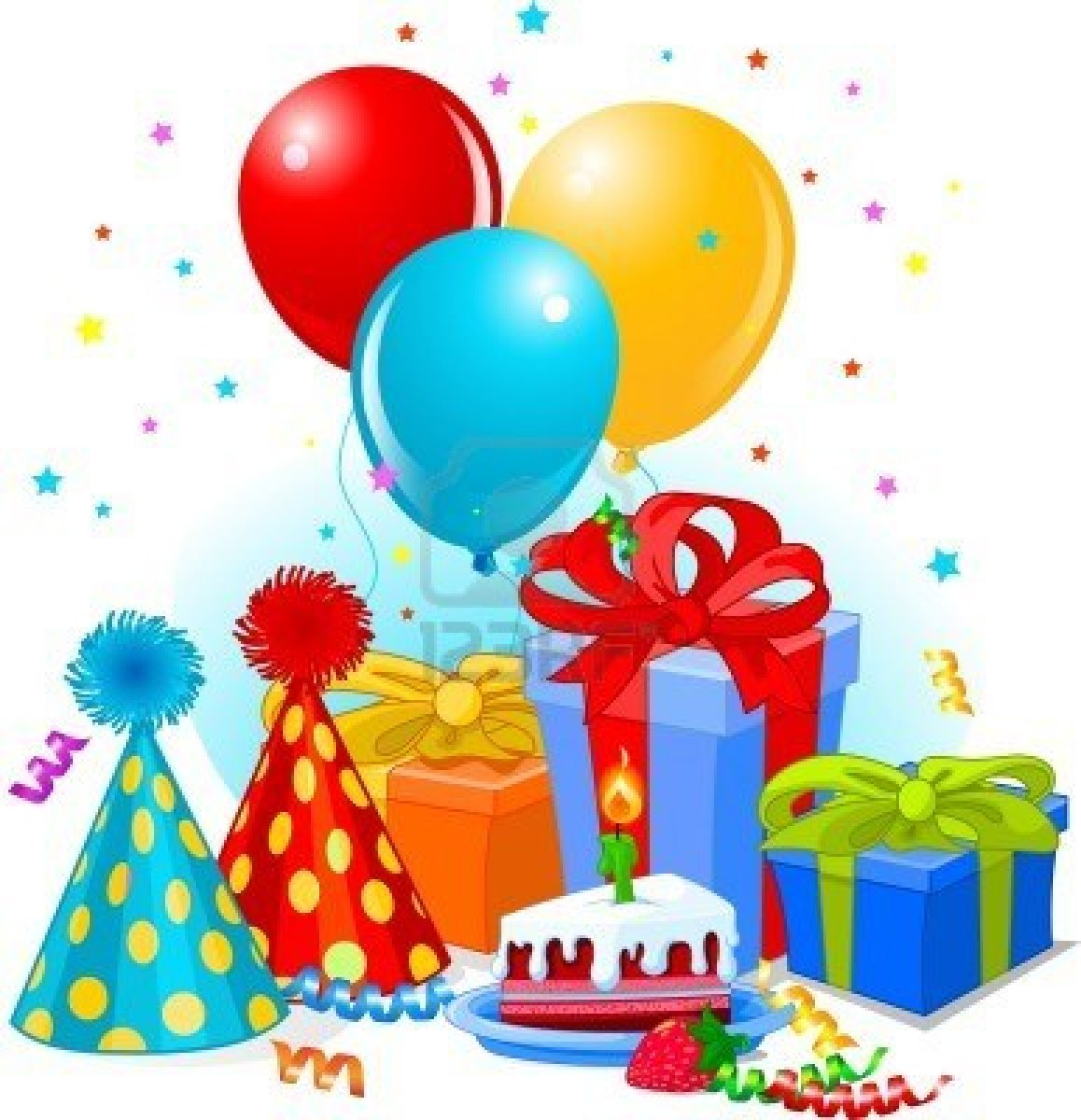 Birthday Balloons And Gifts